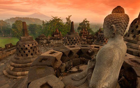 Templos de Borobudur y Bali