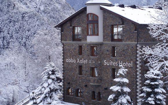Abba Xalet Suites 4* La Massana Andorra en Voyage Prive por 122.00 EUR€