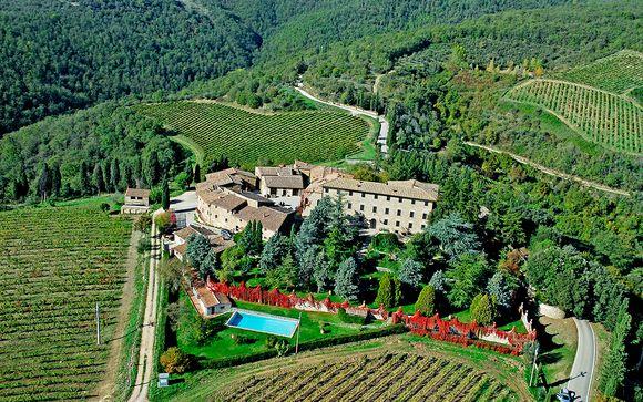 El Hotel Agriturismo Borgo Castelvecchi le abre sus puertas