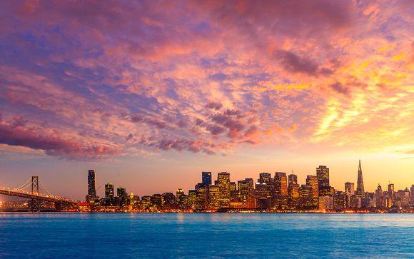 Itinerario de 5 noches + 3 noches en San Francisco