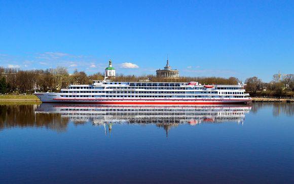 Rusia San Petersburgo - Crucero por el Volga con MS Rostropovich desde 1.579,00 ? con Voyage Prive en San Petersburgo Rusia