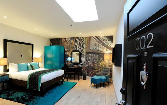Reino Unido Londres – Hotel Indigo London Kensington 4* desde 128,00 ? Londres Reino Unido en Voyage Prive por 128.00 EUR€