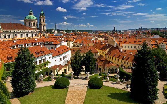 República Checa Praga - Red & Blue Design Hotel Prague 4* desde 53,00 €