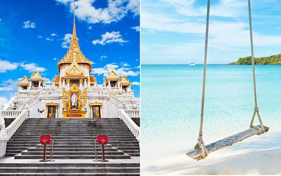 Mandarin Hotel 4*, Manathai Surin 4* y Manathai Khao Lak 4*
