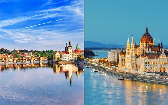Hungría Budapest - Praga y Budapest en 4* desde 455,00 €