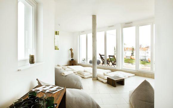 Un eco hotel de diseño en el moderno barrio de Friedrichshain
