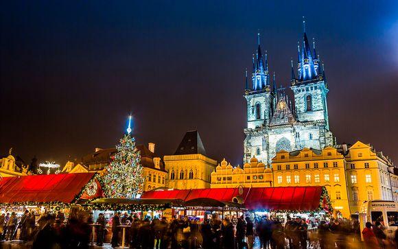 Mercadillos navideños durante 3 noches con vuelos