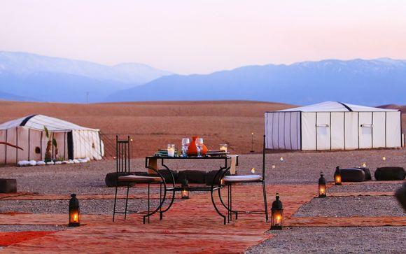 Combinado Riad en Marrakech y Ecolodge Terre Des Etoiles