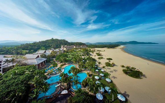 Extensión de 3 noches en la playa en el Shangr-la's Rasa Ria Resort & Spa 5*