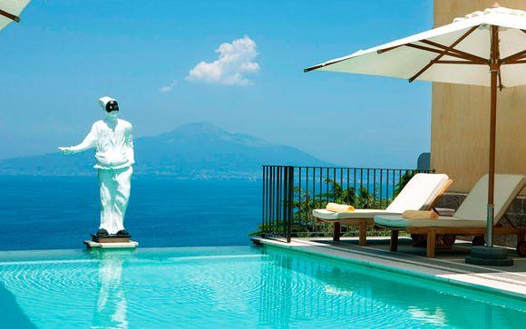 Italia Seiano - Grand Hotel Angiolieri 5* desde 207,00 €