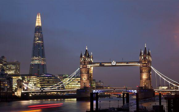 Sofisticación junto a The Shard y Tower Bridge