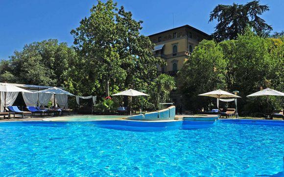Italia Montecatini - Grand Hotel & La Pace 5* desde 119,00 €