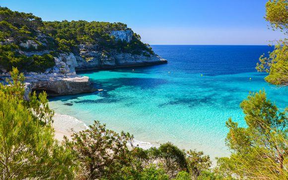 Menorca: Cala en Bosch - smartline Cala'n Bosch