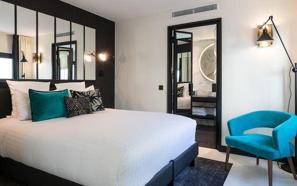 Francia París - LAZ' Hotel Spa Urbain 4* desde 65,00 €