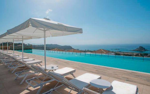 Junior Suite con vistas al mar en un paraje idílico