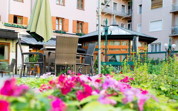 Corvin Hotel Budapest 4*