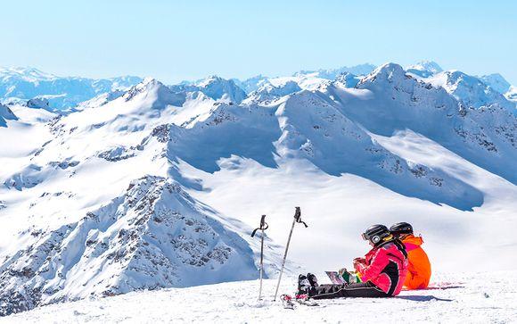 Esquí y encanto granadino en hotel 4*
