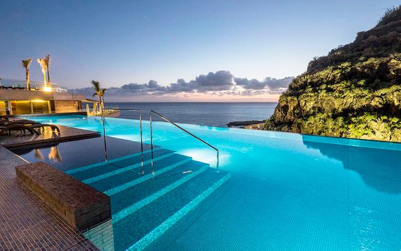 Ambiente sublime con vistas al océano en el suroeste de la isla