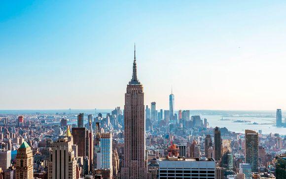 Estilo contemporáneo junto a Broadway y el Empire State