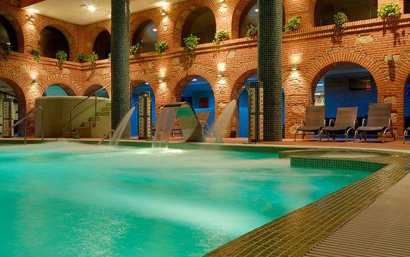 Evasión con acceso al spa en una encantadora localidad