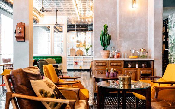 Diseño y confort en un animado barrio de la capital