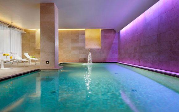 Elegancia y refinamiento con acceso al spa