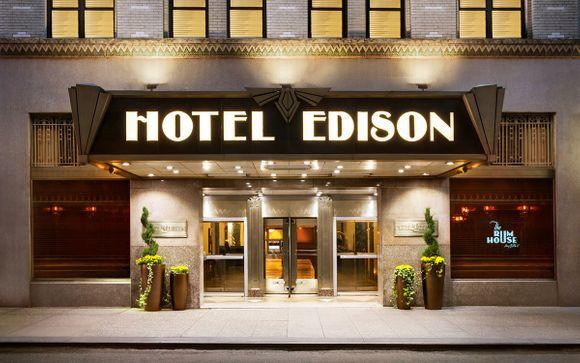 Edison Hotel Times Square 4*