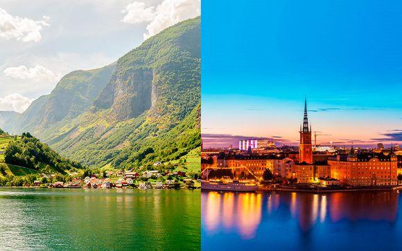 Fiordos al completo con 2 noches en Estocolmo