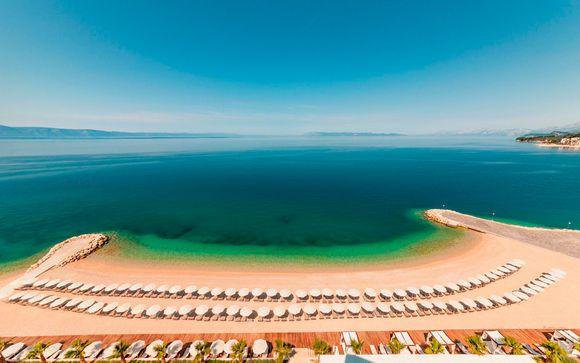Croacia Makarska - Medora Auri Family Beach Resort 4* desde 79,00 €