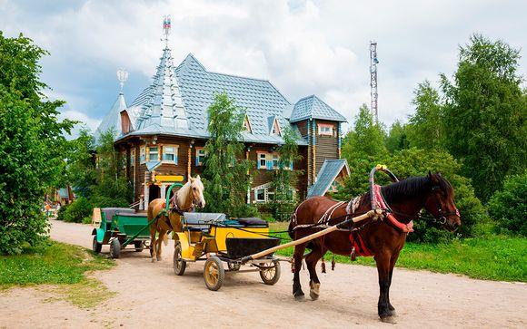 Itinerario 11 noches - Salidas en grupo desde Moscú hacia San Petersburgo