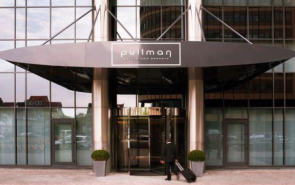 Hotel Pullman Brussels Centre Midi 4*