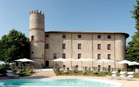 Castello di Baccaresca, en Gubbio