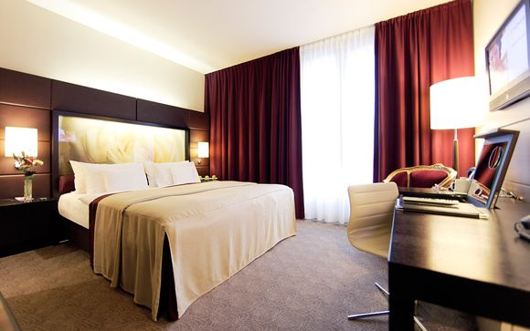 Lindner Hotel am Belvedere 4*
