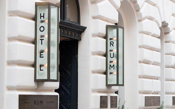 Hotel Rum Budapest 4*