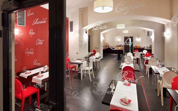 Red & Blue Design Hotel Prague 4*
