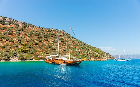 Turquía Bodrum - Estambul y crucero en goleta por Turquía e Islas Griegas desde 892,00 €