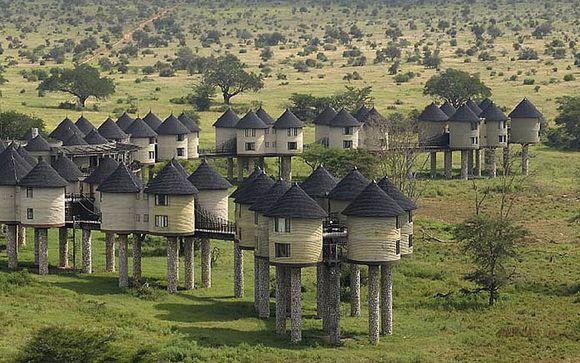 Safari en Ngutuni & Taita Hills (opcional)