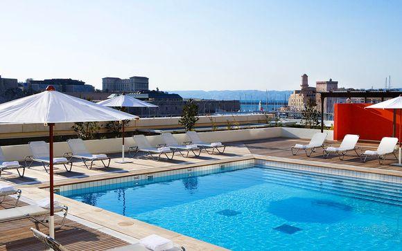 Radisson Blu Hotel Marseille Vieux Port 4* con Voyage Prive en Marsella Francia