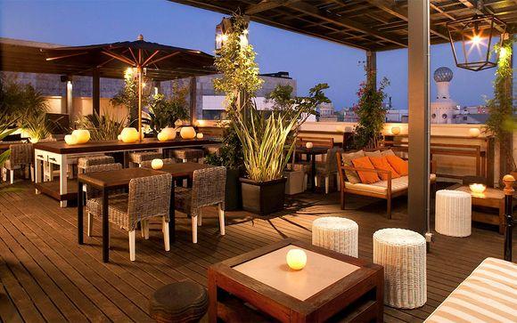 Hotel de diseño junto a Plaza de Cataluña