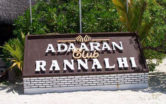 Hotel Adaaran Club Rannalhi 4* (Maldivas)