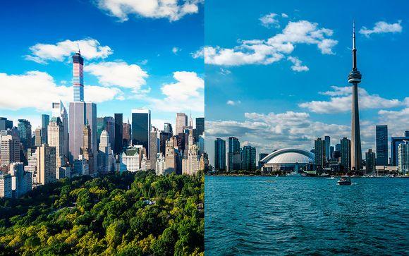 Wyndham Garden Chinatown 4* y Thompson Toronto 4*