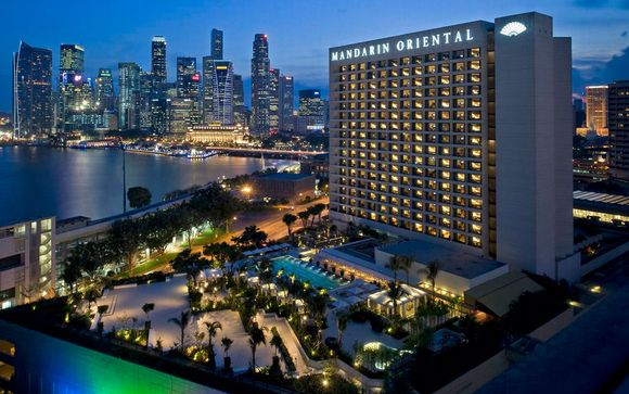 Mandarin Oriental Singapore 5*, en Singapur