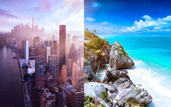 Crowne Plaza Times Square 4* y Ocean Coral & Turquesa 5*