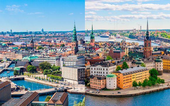Dinamarca Copenhague - Copenhague y Estocolmo capitales de vanguardia desde 1.095,00 €