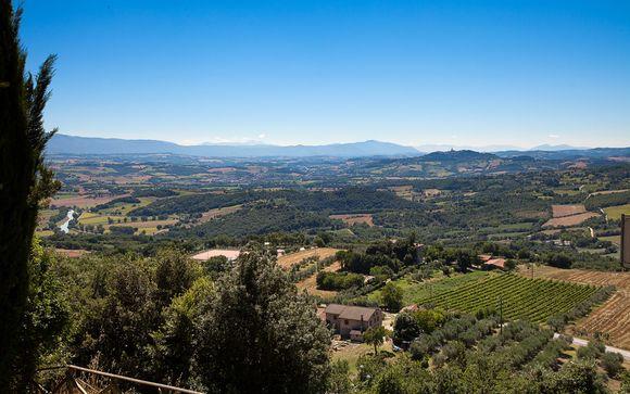 Perugia en Umbría le espera