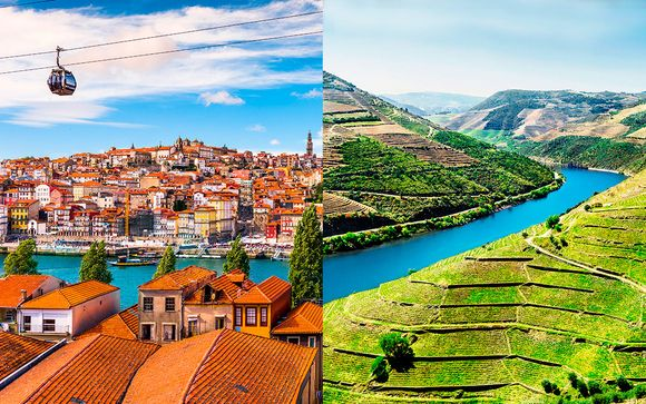 Porto Royal Bridges 4* y Douro Palace Hotel 4*