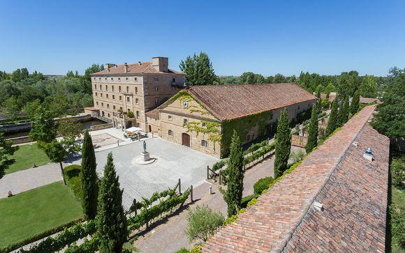 Cata de vinos, lujo y descanso en el valle del Duero