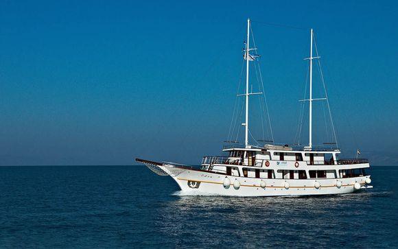 Croacia Dubrovnik - Crucero por Croacia en M/S Eden desde 553,00 €