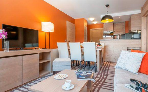 Apartamento Superior de 1 habitación para máximo 4 personas