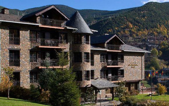 Abba Xalet Suites 4* La Massana Andorra en Voyage Prive por 101.00 EUR€